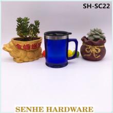 450ml doppelte Wand-Edelstahl-Kaffeetasse (SH-SC22)