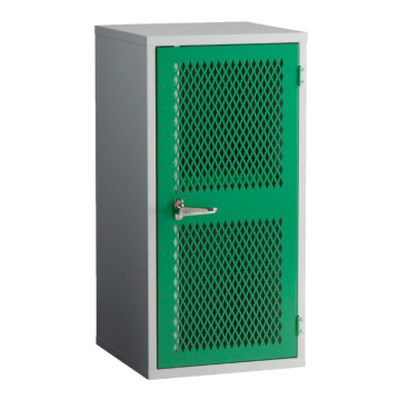 Green Mesh Door Locker