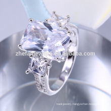 Unique engagement rings,big blue stone ring design wholesale
