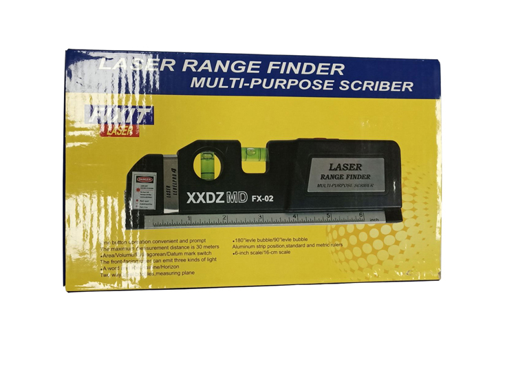 FX-02 3 In 1 Laser Level Rangefinder Out Package