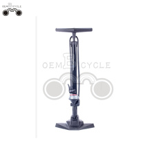 cheap High-pressure bicycle floor pump with gauge