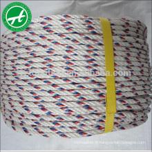 Cordage de polypropylène (pp) 3/4 brins 24 mm nylon pêche