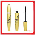 Custom Golden Color Mascara Tube Round Shape