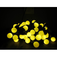 New 2014 Cooper Wire IP67 Waterproof White Christmas Ball Bulb Light String