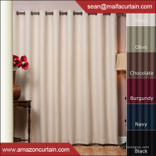 New Curtains Style For 2016 New Design Window Curtain Shaoxing Textile Curtain With Blackout Grommet Curtain Panel