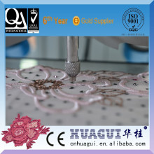 HUAGUI single head two color ultrasonic stone setter machinery