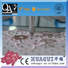 HUAGUI baixo preço mini máquina de costura aplicador de lantejoulas