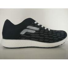 Herren neueste Marke Black Knitting Casual Schuhe