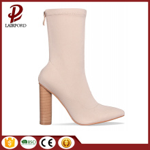 fashionable camel ankle short women sexy boots