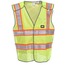 Yellow 5 Point Breakaway Safety Vest