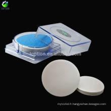 25 mm / 0.2 um, 100 pcs / boîte Système organique domestique Nylon6 Micropore Membrane Disc Filter
