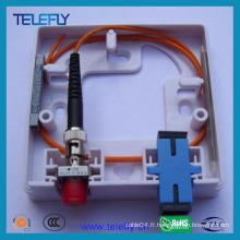 Boîtier de terminal à fibre optique 2fo FTTH