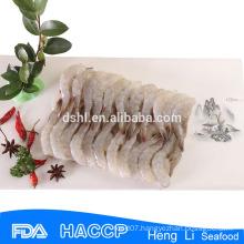 HL002 Frozen cooked peeled headless shrimp