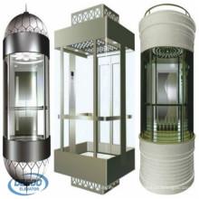Levante o elevador residencial da cápsula do vidro da observação Sightseeing do passageiro 6person