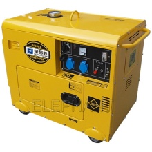 Soundproof Silent Canopy Portable 5kVA 6kVA Diesel Generator with Low Price