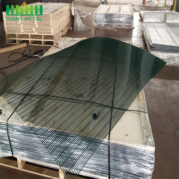 Panel Galvanized Metal Industrial 358 Security Fence Panel