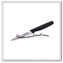 U425 4.0 '' couteau à éplucher avec poignée en plastique