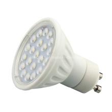 Cerâmica 120degree 4W 21 2835 SMD GU10 Lâmpada LED Spotlight