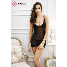 Provocative And Feminine Sexy Lace Chemise Lingerie Thong