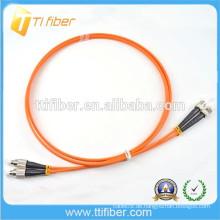 FC-ST Faseroptik Patchkabel Stecker Multimode Zipcord