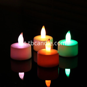 Birthday decoration LED tealight candle