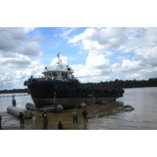 Bolsa a ar de borracha anti-explosão de alta pressão do barco
