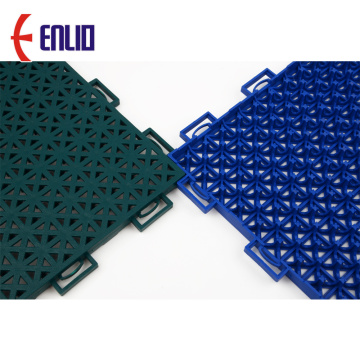 Modularer PP-Interlocking-Fliesen-Basketballboden