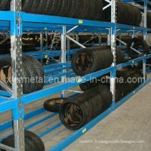 4s Auto Store Warehouse Pneu Rack Pneu