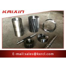 Peças de maquinaria de aço inoxidável personalizadas profissionais do carretel