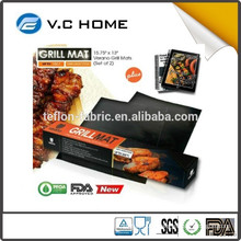 2015 wholesales bbq tools bbq mat high quality BBQ grill mesh wire mesh grill pan made in China