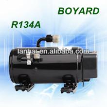 Acondicionador aire r134a boyard 12v aire acondicionado sin cepillo dc compresor para 12 voltios rv camión durmiente aire acondicionado