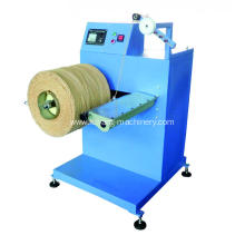 Paper rope rewinding machines
