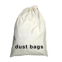 Reusable Washable 100% Nature Cotton Cleaning Laundry Bag Wash Dry Storage Laundry Bag with Customized Logo