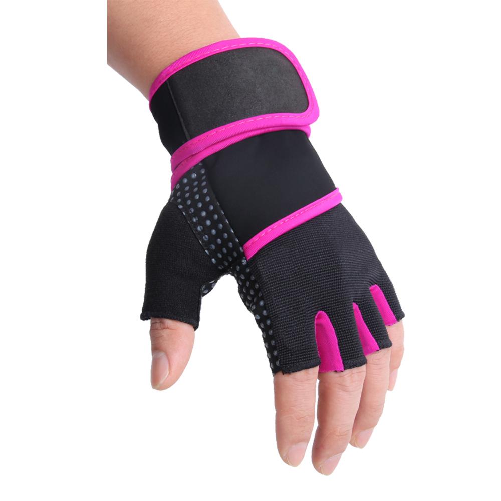 Pink line gloves