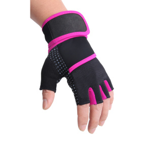 Pink Line Weightlifting Fitness Handskar