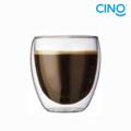 210ml Double-wall Glass Cup DG-B-210