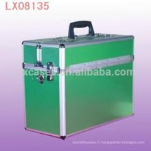 vend en gros des valise éminents portable en aluminium avec une sangle d'épaule