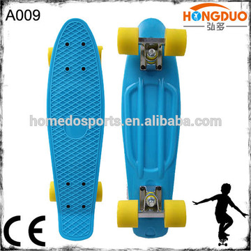 22 '' e 27 '' polegadas LED luz piscando plástico mini cruzador mini skateboard
