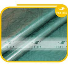 Tela de algodón africana del diseño Bazin Riche Guinea Brocade para el partido FEITEX China