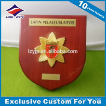 Custom sample wooden award plaque bases with free design