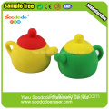 Red Tea Pot School Eraser brev