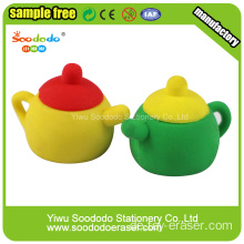 Red Tea Pot School Eraser Briefpapier
