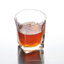 Bulk Clear Square Whisky Glass