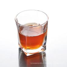 Verre à whisky carré clair en vrac