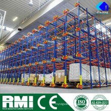Система вешалки Паллета фабрики manufacturorJracking экономичная высокая плотность тяжелых зуй металлический челнок радио паллетные стеллажи
