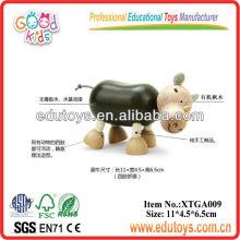 Otros juguetes para bebé, Rhino de madera juguetes para niños