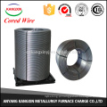 CaSi / fio de silicone de cálcio de Si55-60