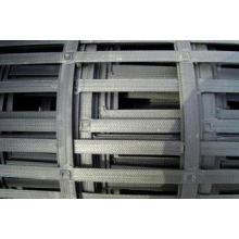 Steel Plastic Geogrid Mining Mesh High tensile Road / Soil