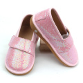 Kanak-kanak Fancy Pink Colors Toddler Glitter Squeaky Shoes