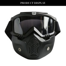 Motocross Goggles Mask Full Face Goggles Mask Protective Goggles Mask Tactical Mask